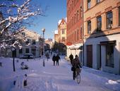 Vinter i Haga, Göteborg