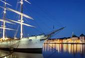 HMS af Chapman, Stockholm