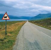 Landsväg i Skottland, Storbritannien