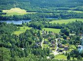 Utsikt mot Dalälven, Dalarna