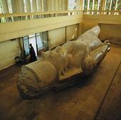 Kolassen Ramses II i Memfis, Egypten