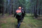 Människor i skogen