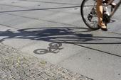 Cykel på cykelbana