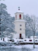 Kilanda kyrka på vinter, Västergötland