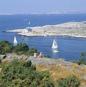 Utsikt från Marstrand, Bohuslän