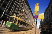 Spårvagn i Helsingfors, Finland