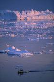 Isberg vid Jakobshavn, Grönland