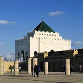 Mausoleum Mohammed V i Rabat, Marocko