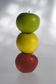 Tre äpplen
