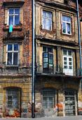 Hus i Kracow, Polen