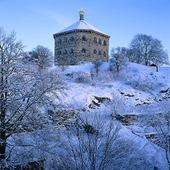 Skansen Kronan i Göteborg, vinter