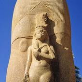 Staty Ramses II i Karnaktempet, Egypten