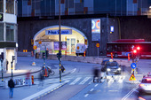 Katarinavägen vid Slussen, Stockholm