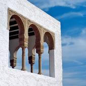 Arkitektur i Mojacar, Spanien