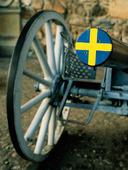 Kanon med svenskt mynningsskydd