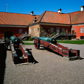 Kanonerna Galten och Suggan på Gripsholms slott