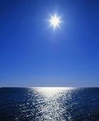 Solen över hav