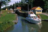Göta Kanal vid Sjötorp, Västergötlan