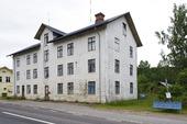 Gammalt eternithus i Holmsveden, Hälsingland