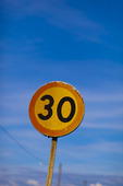 Trafikskylt, 30-skylt