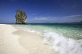 Koh Poda Beach, Krabi, Södra Thailand