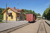 Järnvägsstation, Verkebäck, Småland