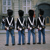 Kunglig vakt i Köpenhamn, Danmark