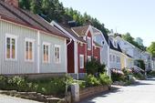 Hus i Gränna, Småland