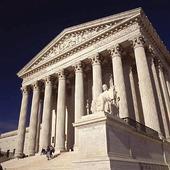 S. Court Building i Washington DC, USA