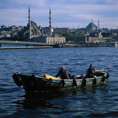 Fiskare i Istanbul, Turkiet