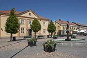 Stora torget i Vimmerby, Småland
