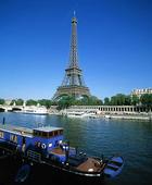 Eiffeltornet i Paris, Frankrike