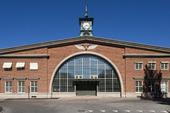 Gävle södra station, numera Maxim Nöjesstation, Gästrikland