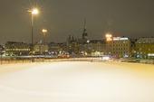 Vinter vid Slussen Stockholm