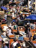 Flytande marknad, Thailand
