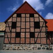 Korsvirkeshus i Ystad, Skåne