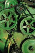 Wheel of conveyor belting