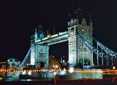 Tower Bridge i London, Storbritannien