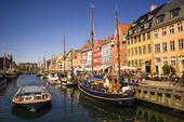 Nyhavn i Köpenhamn; Danmark