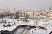 Slussen vintern 2012, Stockholm