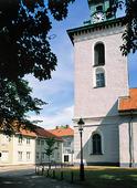Christinae kyrka i Alingsås, Västergötland