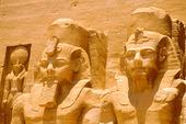 Ramesses II Tempel i Abu Simbel i Aswan, Egypten