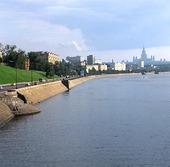 Moskvafloden, Ryssland