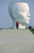 Sculpture of the head, The Netherlands