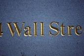 Wall Street i New York, USA