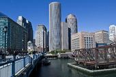 Evelyn Moakley bridge i Boston, USA