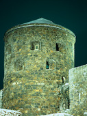 Bohus fästning vintertid, Bohuslän