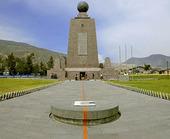 Ekvatorlinjen i Quito, Ecuador