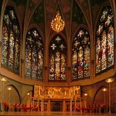 Interiör Oskar Fredriks kyrka, Göteborg