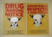 Affisch om droger